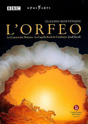 Rent Claudio Monteverdi: L'Orfeo Online DVD Rental
