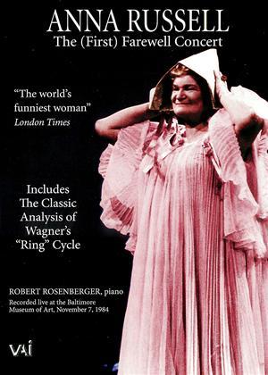 Rent Anna Russell: The Farewell Concert Online DVD Rental