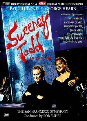 Rent Sweeney Todd in Concert: Stephen Sondheim Online DVD Rental