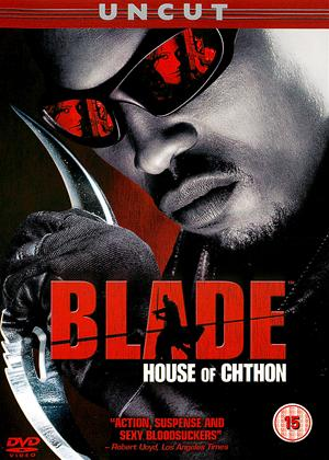 Rent Blade: House of Chthon Online DVD Rental