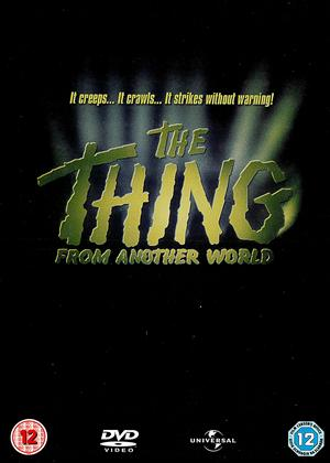 Rent The Thing from Another World Online DVD Rental
