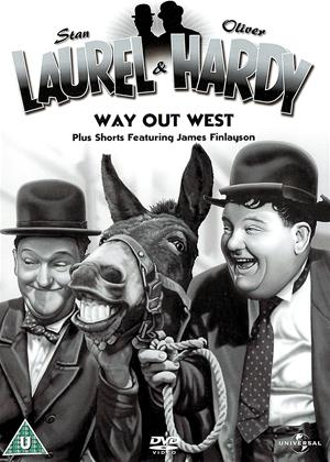 Rent Laurel and Hardy: Way Out West: Vol.3 Online DVD Rental