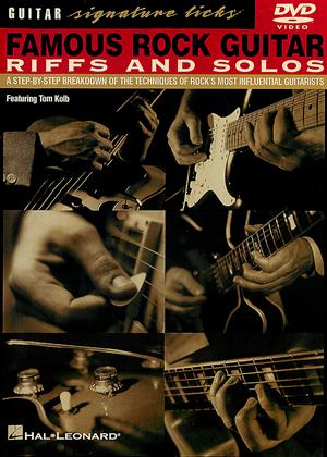 Rent Famous Rock Guitar Riffs and Solos Online DVD Rental
