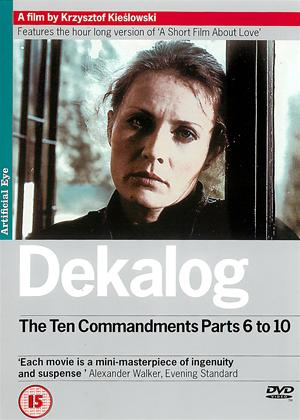 Rent Dekalog: The Ten Commandments (aka The Decalogue) Online DVD & Blu-ray Rental