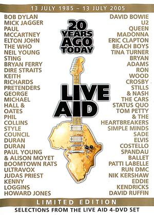 Rent Live Aid: 20 Years Ago Today Online DVD Rental