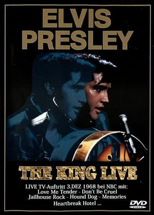 Rent Elvis Presley: The King Live Online DVD Rental