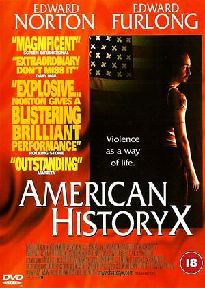 Rent American History X Online DVD Rental