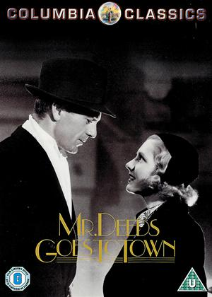 Rent Mr Deeds Goes to Town Online DVD & Blu-ray Rental