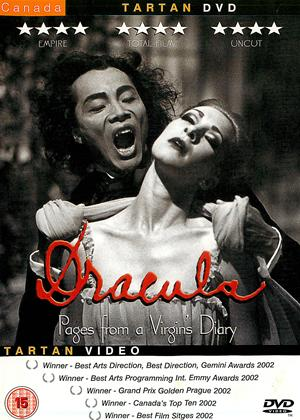 Rent Dracula: Pages from a Virgin's Diary Online DVD Rental