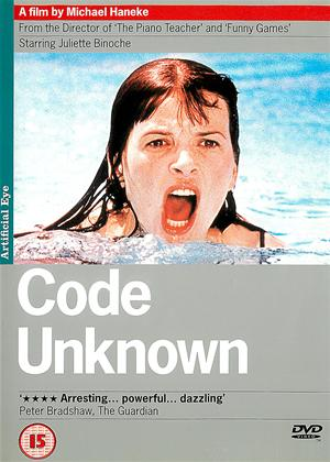 Rent Code Unknown (aka Code inconnu) Online DVD Rental