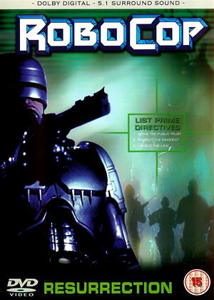 Rent Robocop: Resurrection Online DVD Rental