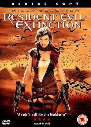 Resident Evil: Extinction Online DVD Rental
