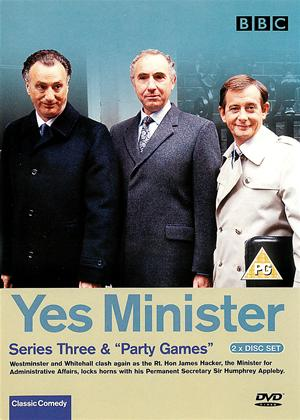 Rent Yes Minister: Series 3 Online DVD Rental