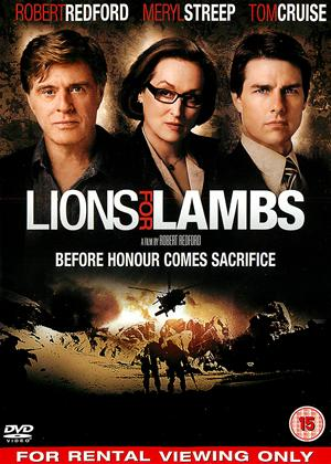 Lions for Lambs Online DVD Rental