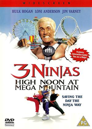 Rent 3 Ninjas: High Noon at Mega Mountain Online DVD Rental