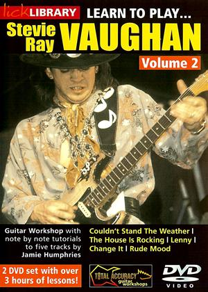 Rent Learn to Play: Stevie Ray Vaughan: Vol.2 Online DVD Rental