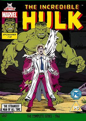 Rent Incredible Hulk Complete Series 1966 Online DVD Rental