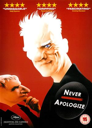 Rent Never Apologize Online DVD Rental