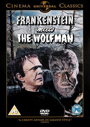 Frankenstein Meets the Wolfman Online DVD Rental