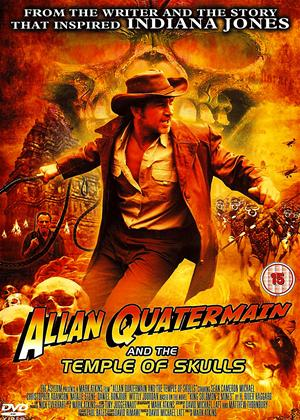 Rent Allan Quatermain and the Temple of Skulls Online DVD Rental