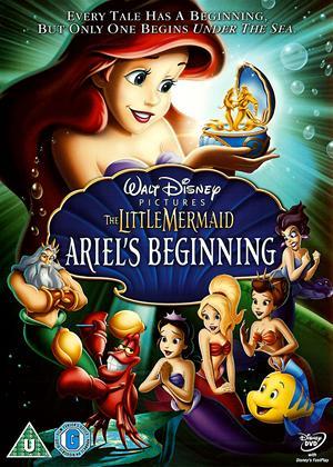 Rent Little Mermaid: Ariel's Beginning Online DVD Rental