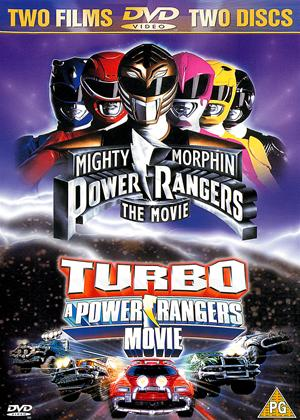 Rent Mighty Morphin Powers Rangers: The Movie / Turbo: A Power Rangers Movie Online DVD Rental