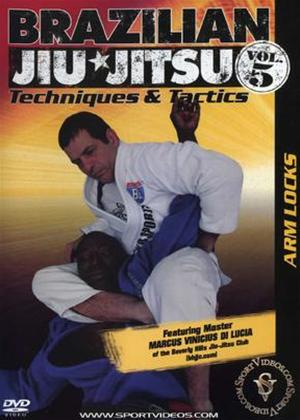 Rent Brazilian Jiu Jitsu 5: Armlocks Online DVD Rental