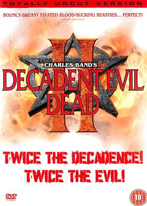 Rent Decadent Evil Dead 2 Online DVD Rental