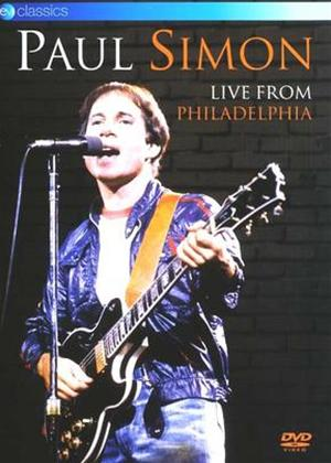 Rent Paul Simon: Live from Philadelphia Online DVD Rental