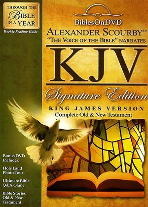 Rent Alexander Scourby KJV Signature Edition Bible Online DVD Rental