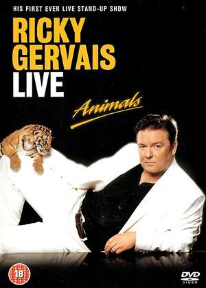 Rent Ricky Gervais: Animals: Live Online DVD & Blu-ray Rental