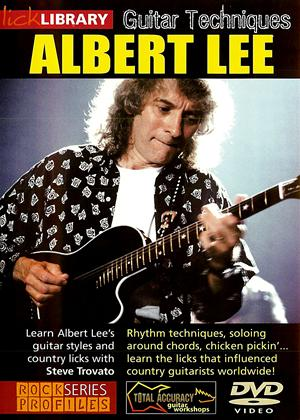Rent Guitar Techniques of Albert Lee Online DVD Rental