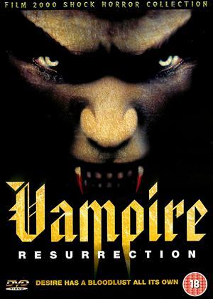 Rent Vampire Resurrection Online DVD Rental