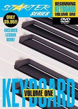 Rent Starter Series: Beginning Keyboard: Vol.1 Online DVD Rental
