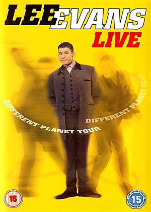 Lee Evans: Different Planet Tour Online DVD Rental