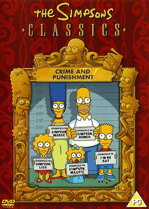 Rent The Simpsons Classics: Crime and Punishment Online DVD Rental