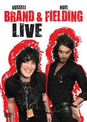 Rent Russell Brand and Noel Fielding Live Online DVD Rental