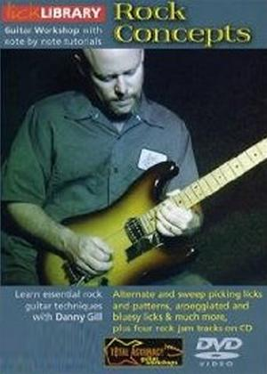 Rent Lick Library: Rock Concepts Online DVD Rental