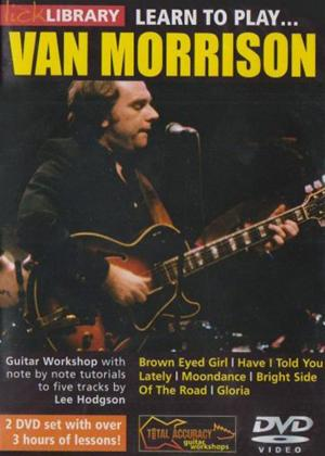 Rent Learn to Play Van Morrison Online DVD Rental