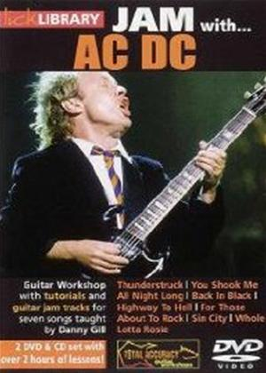Rent Lick Library: Jam with AC/DC Online DVD Rental