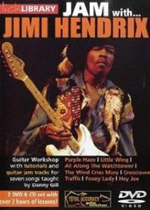 Rent Lick Library: Jam with Jimi Hendrix Online DVD Rental