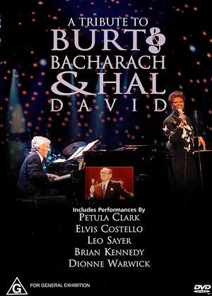Tribute to Burt Bacharach and Hal David Online DVD Rental