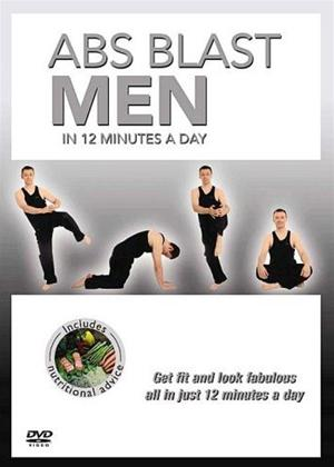 Rent Abs Blast in 12 Minutes: Men Online DVD Rental