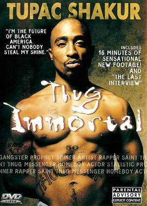 Rent Tupac Shakur: Thug Immortal Online DVD Rental