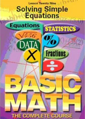 Rent Basic Maths: Solving Simple Equations Online DVD & Blu-ray Rental