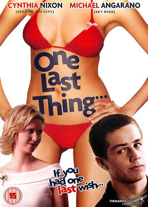 Rent One Last Thing Online DVD Rental