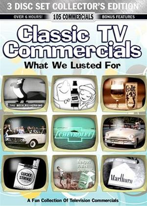 Rent Classic TV Commercials: What We Lusted For Online DVD Rental