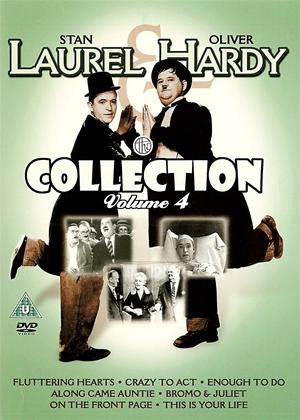 Rent Laurel and Hardy Collection 4 Online DVD Rental