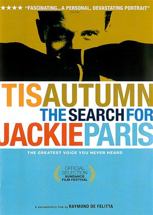 Rent 'Tis Autumn: The Search for Jackie Paris Online DVD Rental
