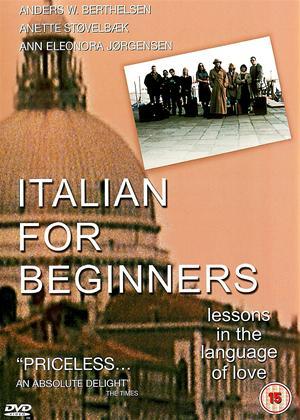 Rent Italian for Beginners (aka Italiensk for begyndere) Online DVD & Blu-ray Rental